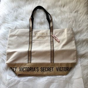 Victoria's Secret Sparkle tote